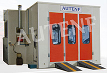 CSB5004LB car spray booth with oil burner